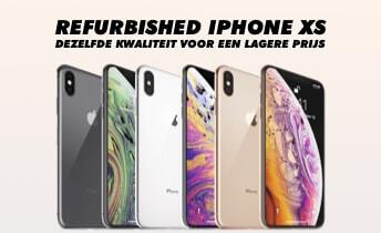 Refurbished iPhone XS: bij Forza is dat wél een goede investering!