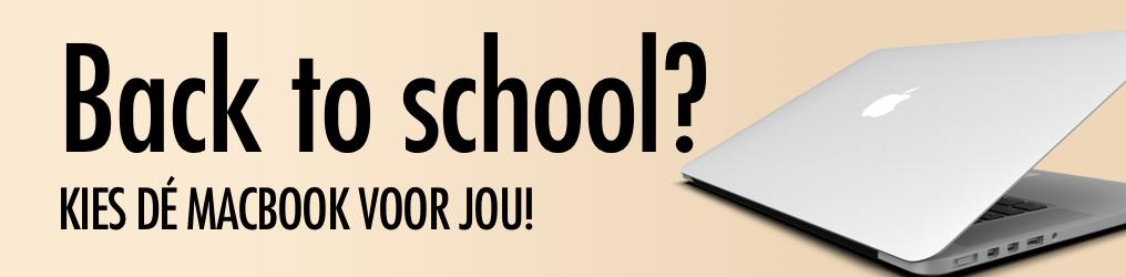 Back to school? Kies de juiste MacBook voor jou!