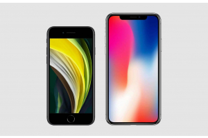 iPhone SE 2020 vs iPhone X