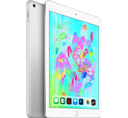 Afbeelding van Refurbished iPad 2018 32GB Silver Wifi + 4G