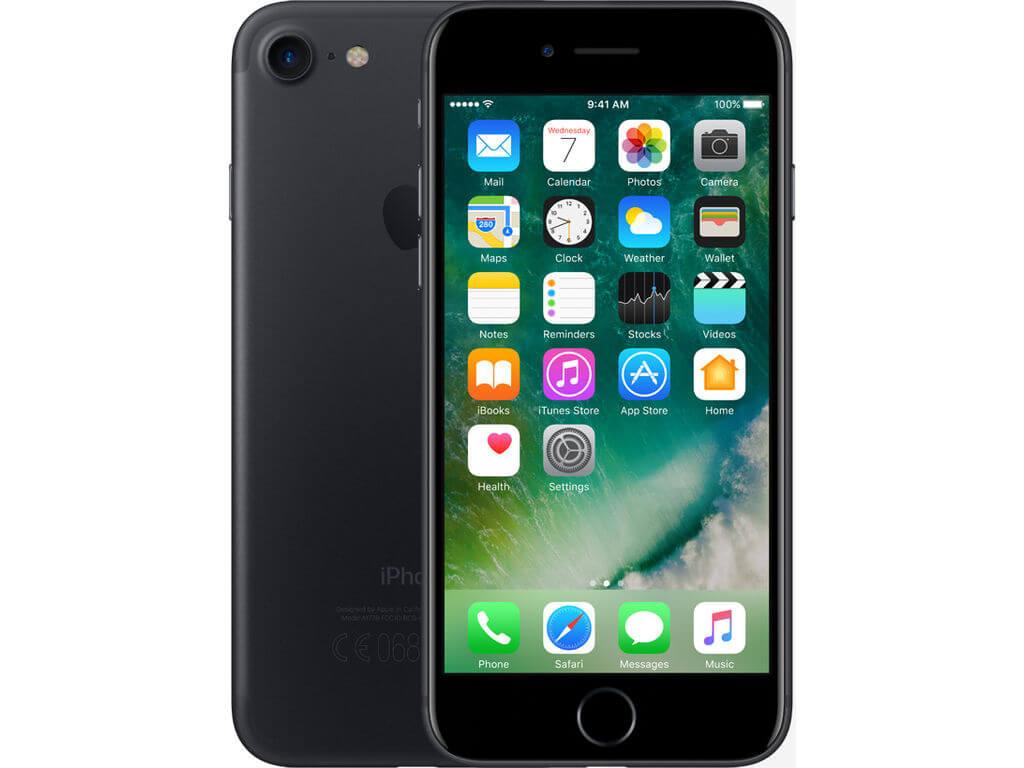 Afbeelding van Apple iPhone 7 128GB Black mobiele telefoon