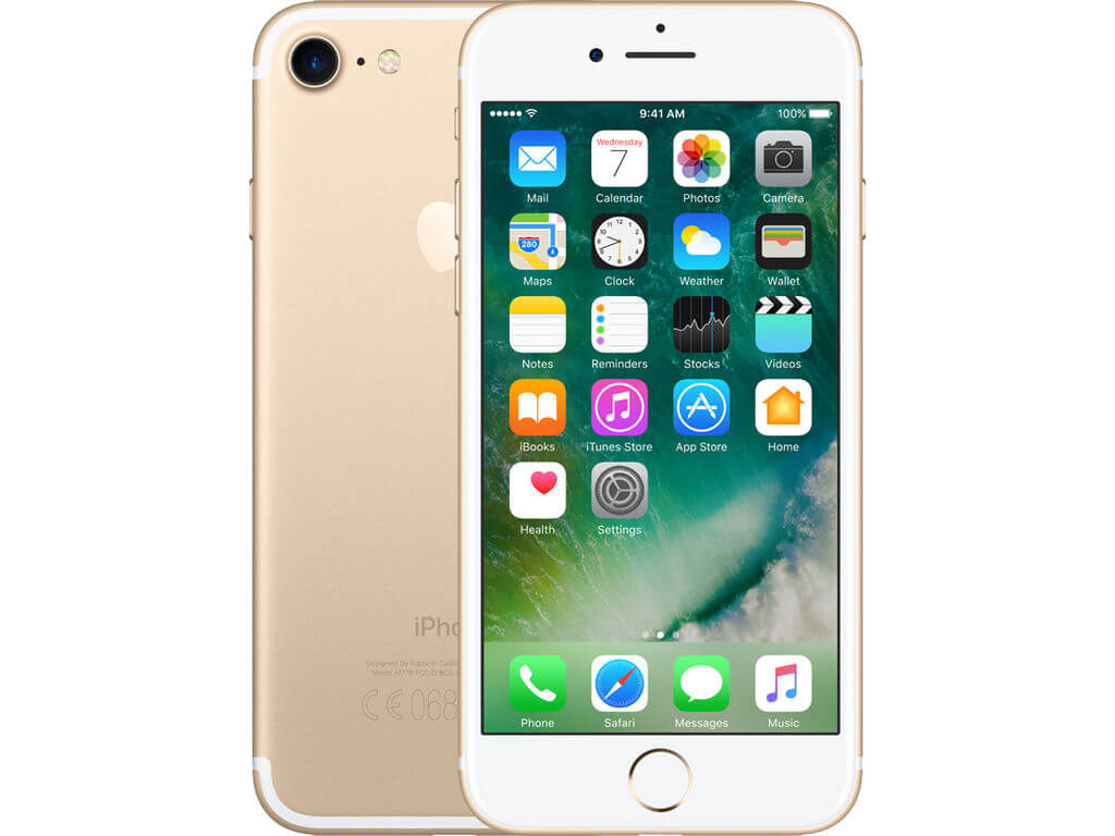 Afbeelding van Apple iPhone 7 128GB Gold mobiele telefoon