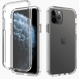 iPhone 11 Pro screenprotector & transparante hoes