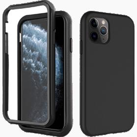 iPhone 11 Pro screenprotector & zwarte hoes