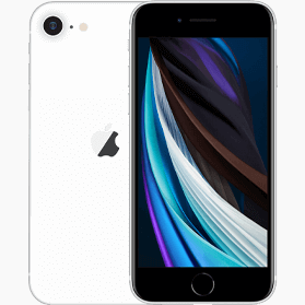 Refurbished iPhone SE 2020 128GB Wit