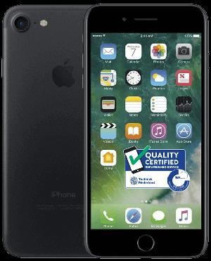 Afbeelding van Apple iPhone 7 32GB Black mobiele telefoon