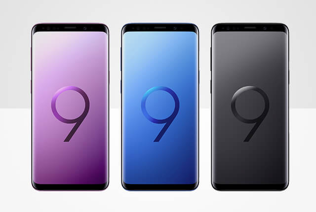 De nieuwe Samsung Galaxy S9 en de S9+