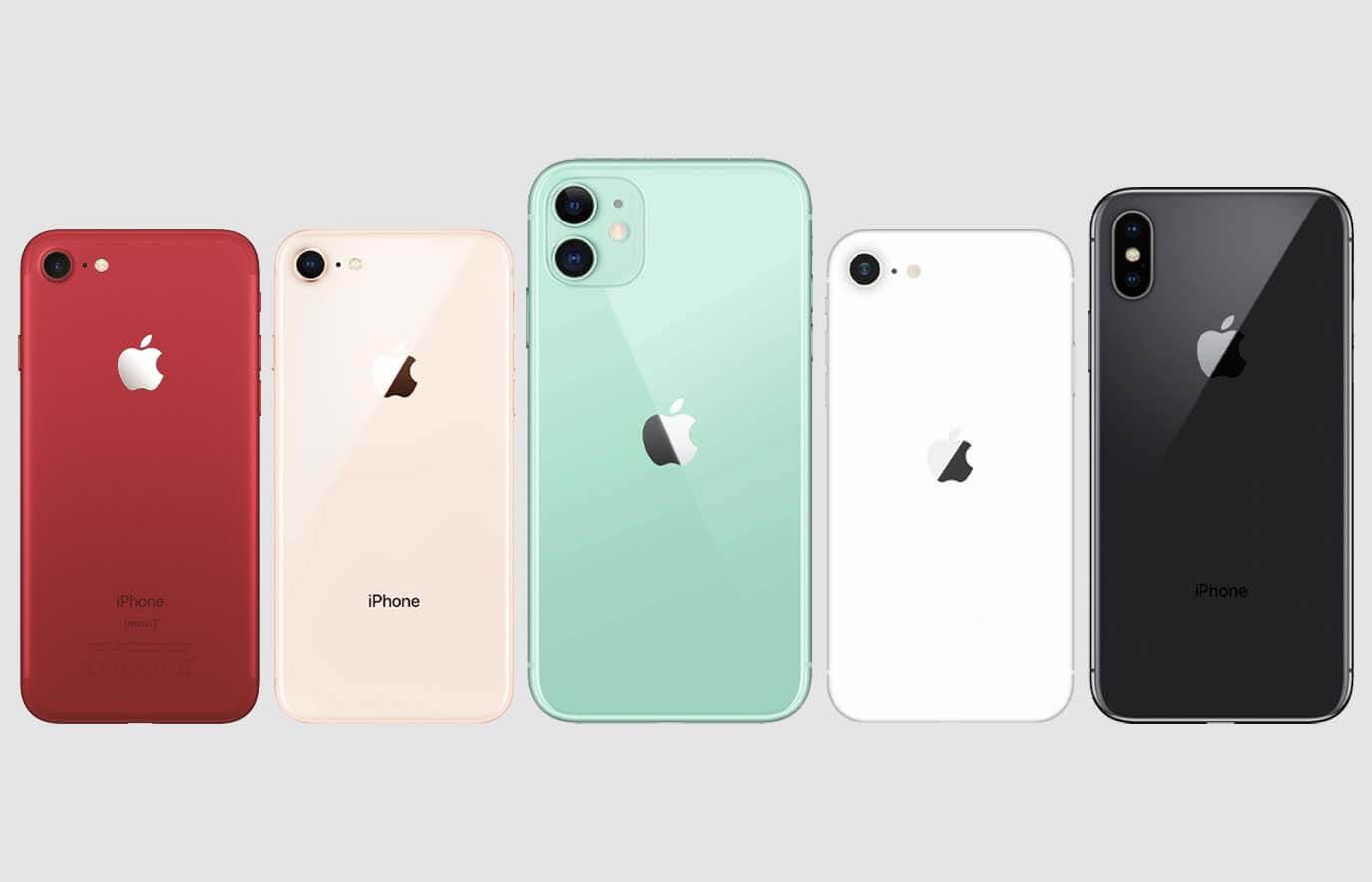 Forza top-5 refurbished iPhones