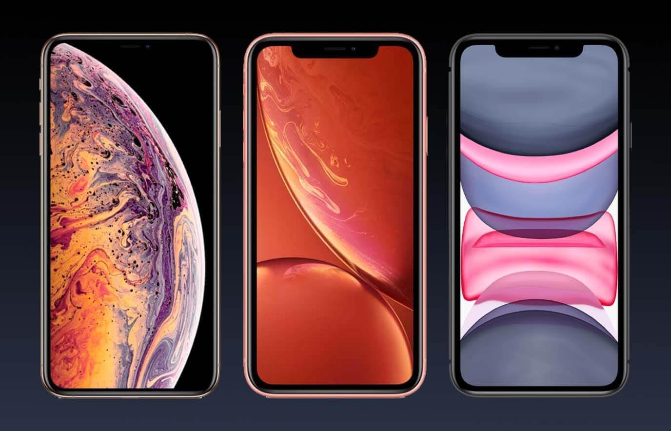 Het verschil tussen de iPhone XS, iPhone XR en iPhone 11