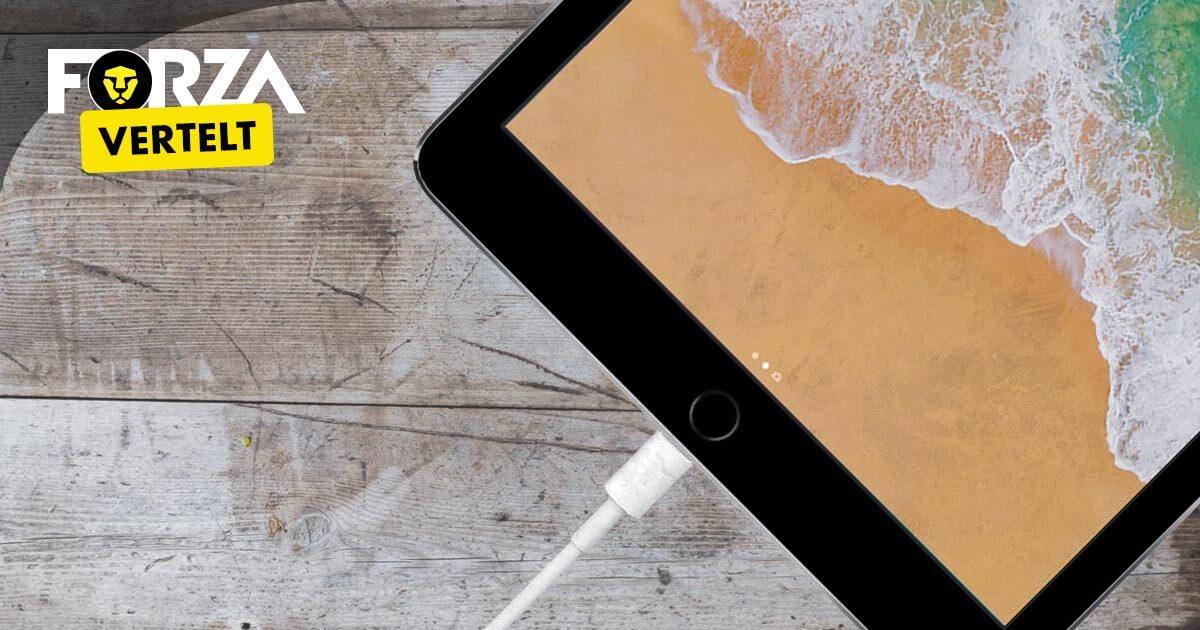 iPad 2018 opladen