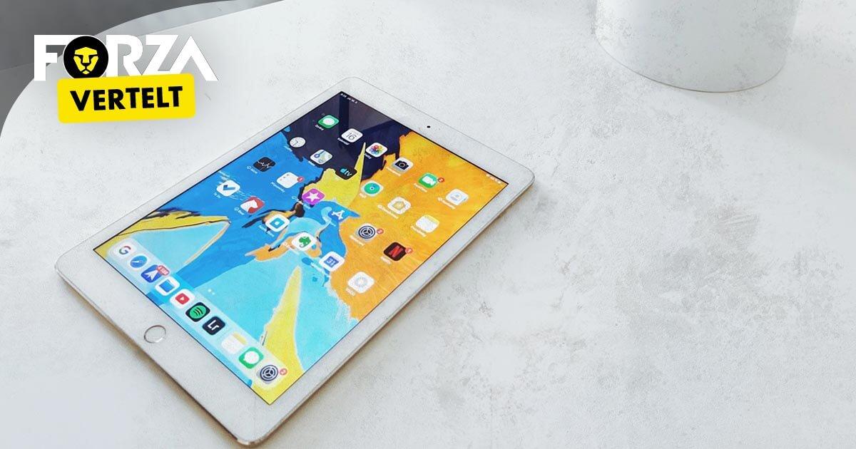 iPad 2018 scherm