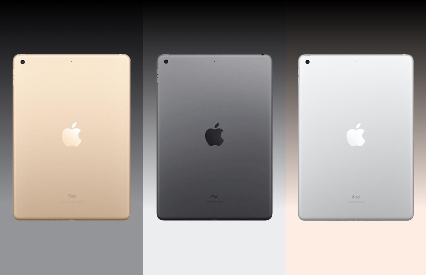 iPad 2017, iPad 2018 en iPad 2019