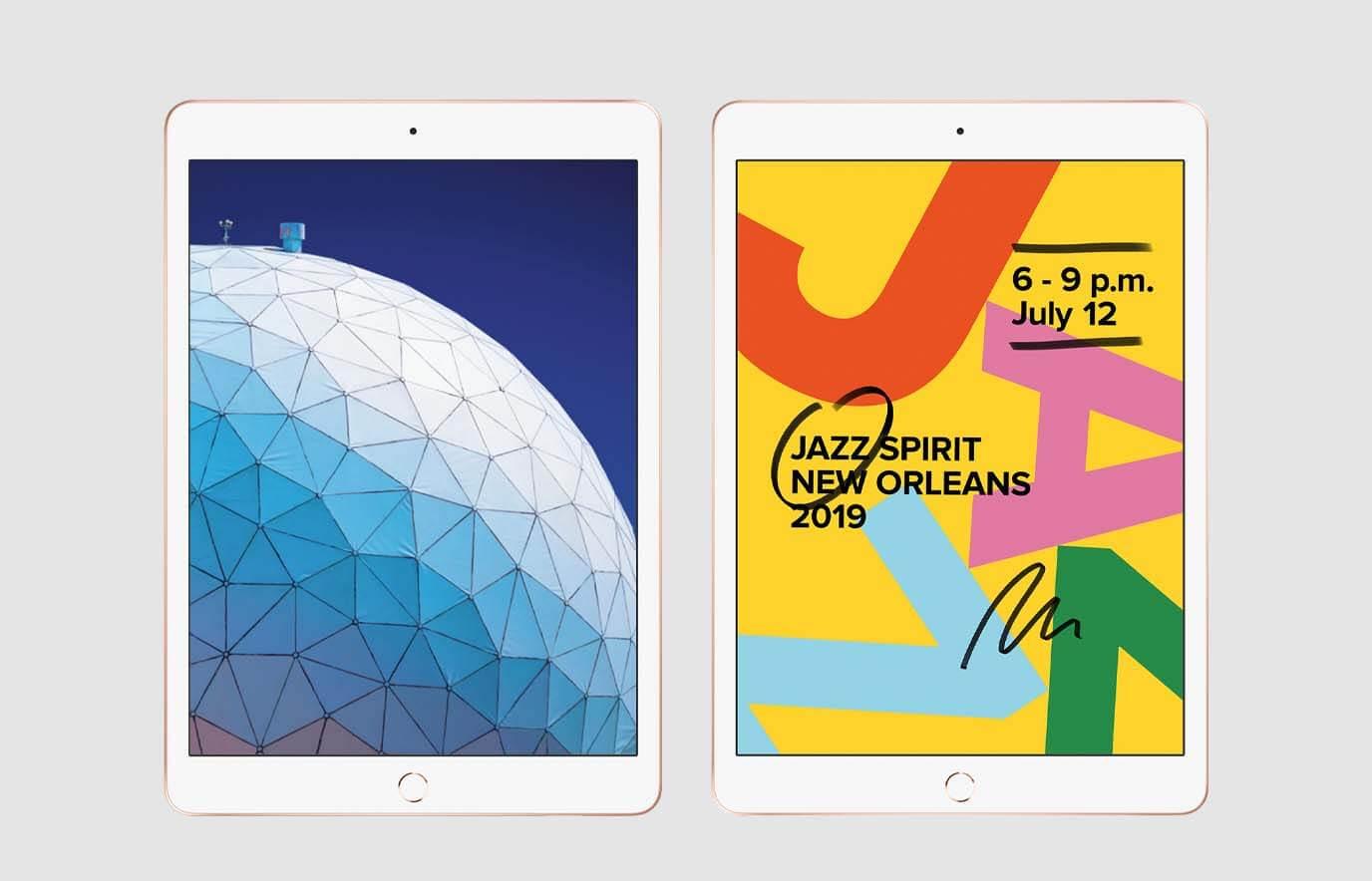 iPad Air 2019 en iPad 2019: overeenkomsten en verschillen