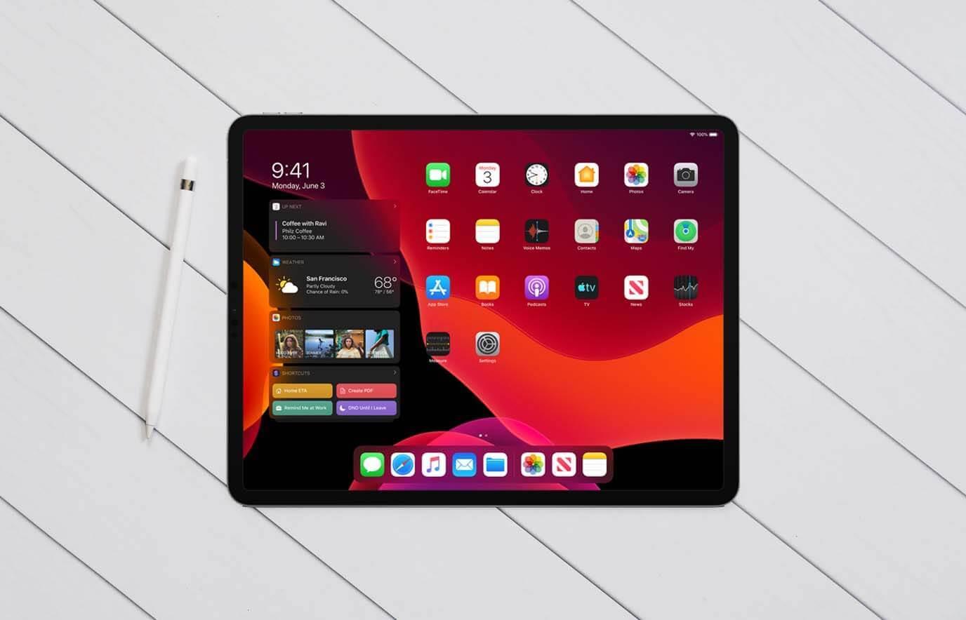 iPad ondersteuning iOS en iPadOS