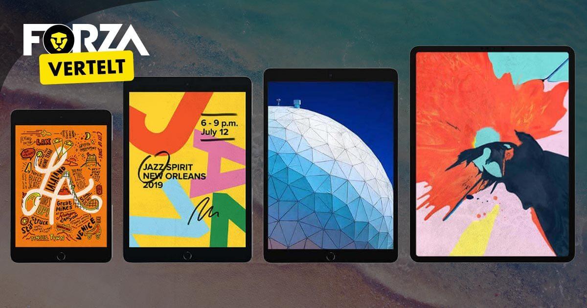 Welke iPad kopen? Gebruik de keuzehulp!