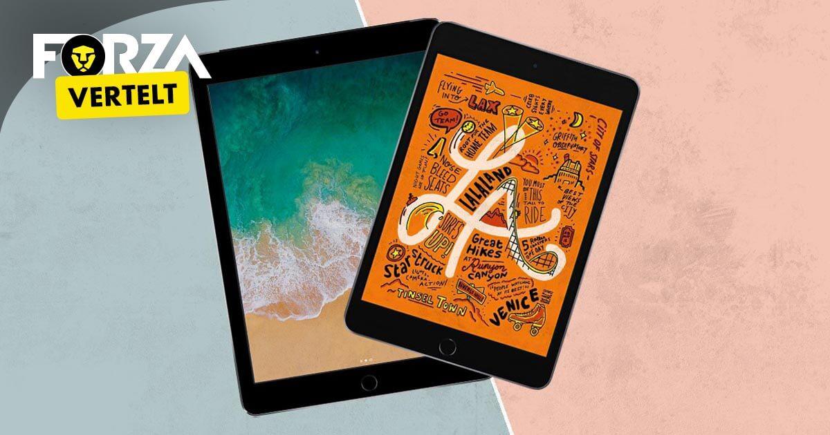 iPad Mini 5 vs iPad 2018