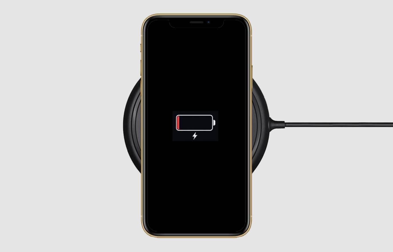 iPhone 11 draadloos opladen werkt niet