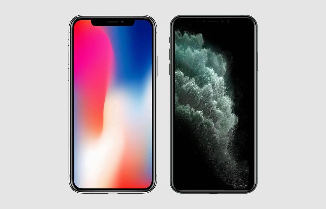 iPhone 11 Pro vs iPhone X, wat is het verschil?