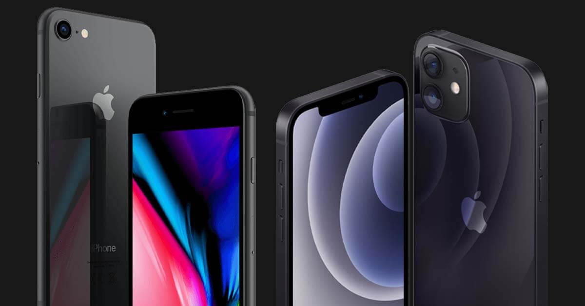 iPhone 12 Mini vs iPhone 8. Twee kleine iPhones vergeleken