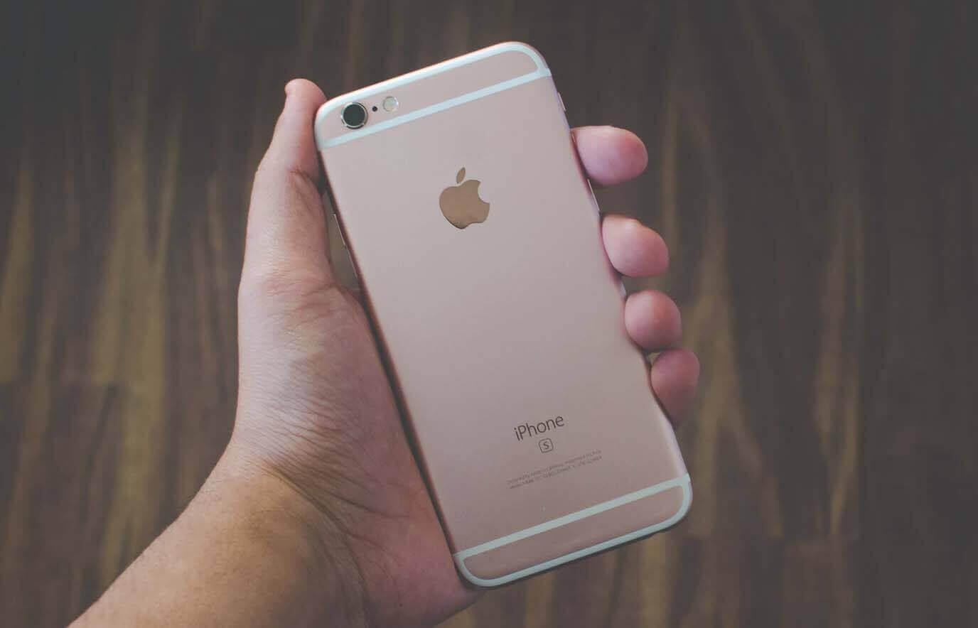 Refurbished iPhone 6S bruikbaar in 2021
