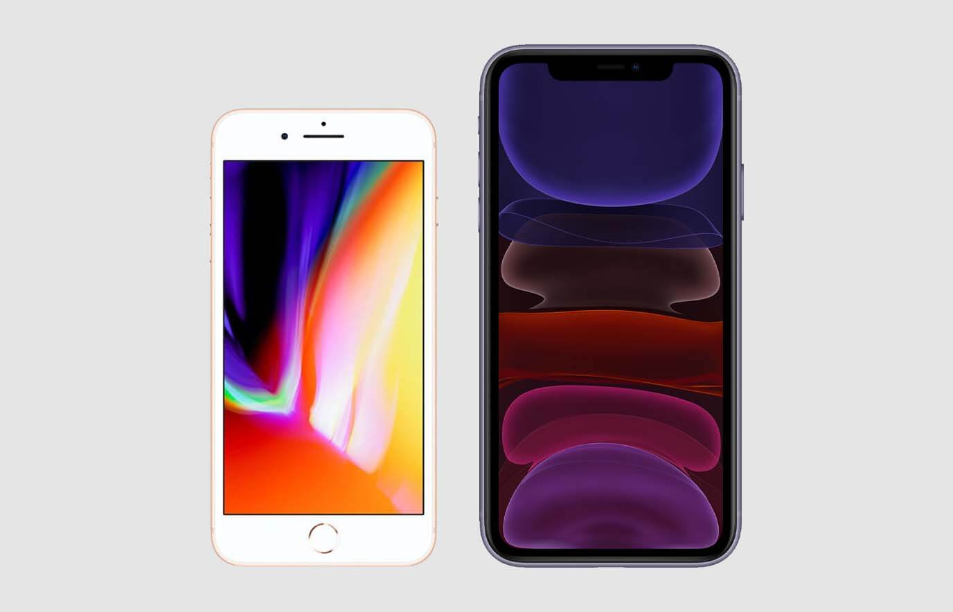 iPhone 8 vs iPhone 11. Wat is het verschil?