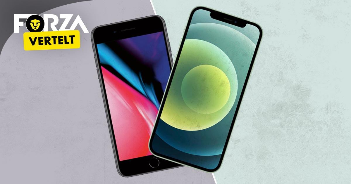 iPhone 8 vs iPhone 12