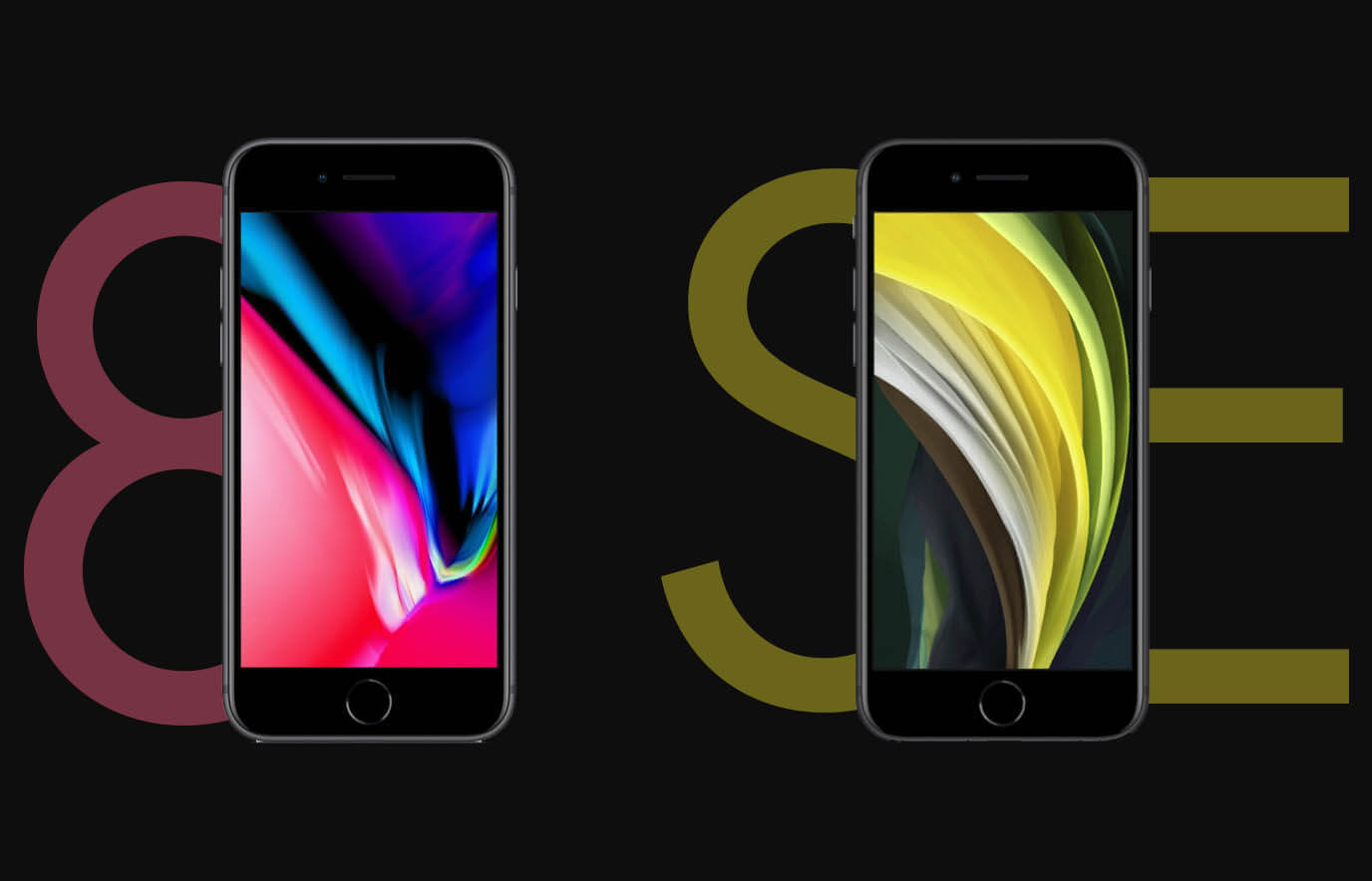 iPhone 8 vs iPhone SE 2020: overeenkomsten en verschillen