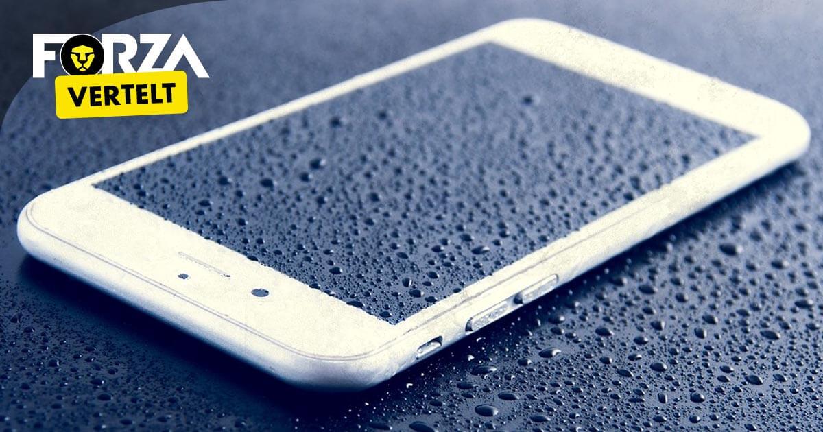 iPhone 8 waterdicht