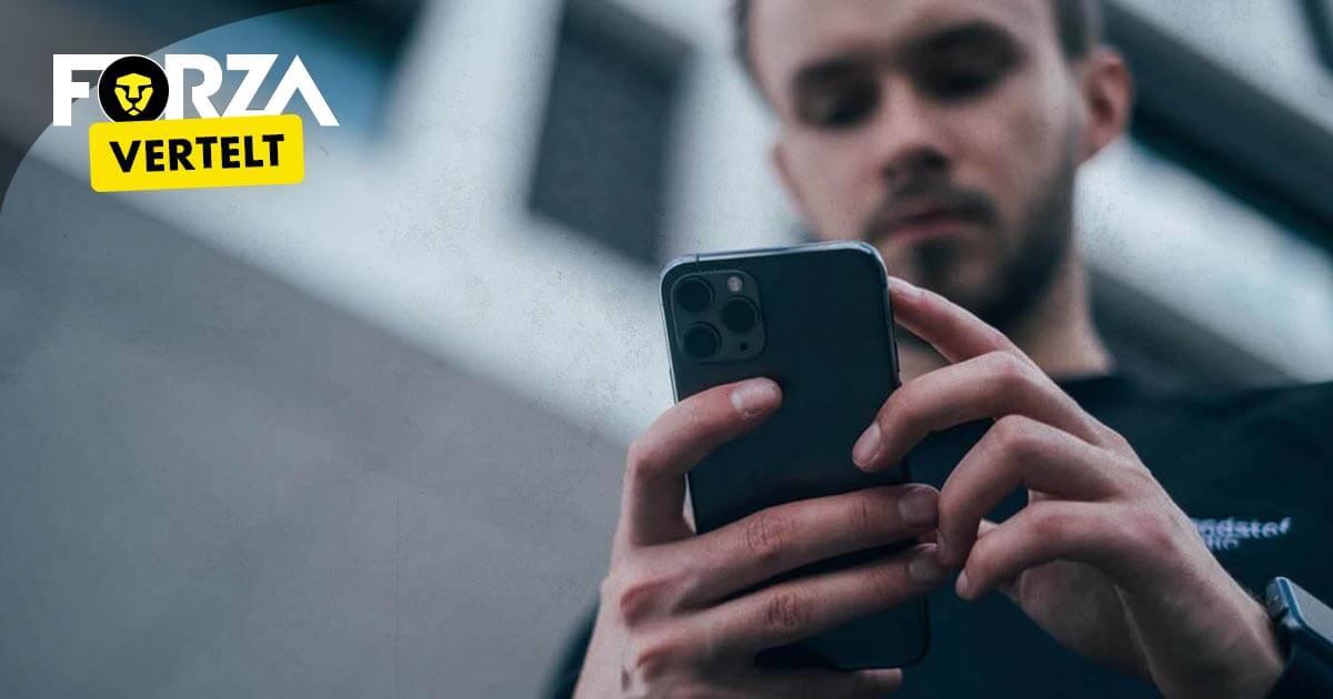 iPhone beeldschermformaat kiezen
