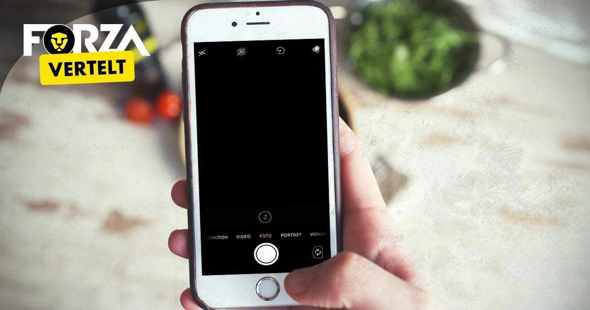 iPhone camera werkt niet