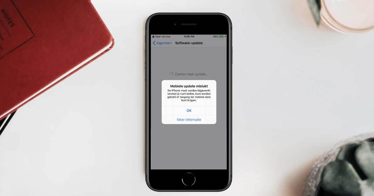 iPhone geen service