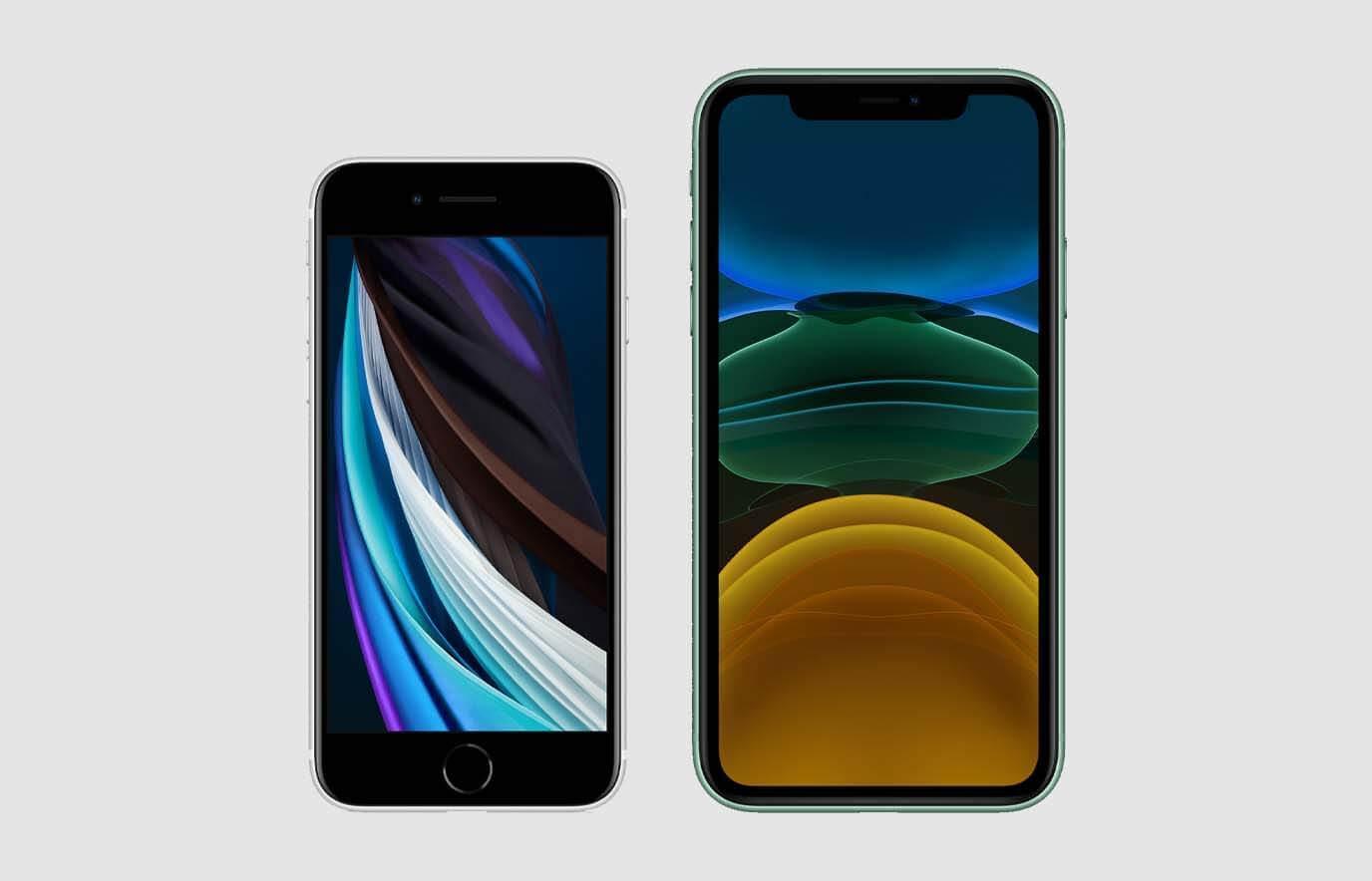 iPhone SE 2020 vs iPhone 11