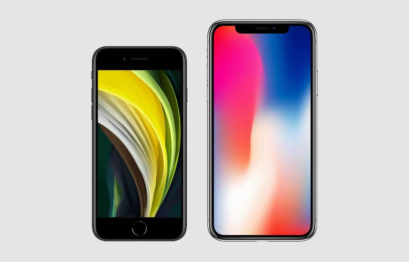 iPhone SE 2020 vs iPhone X, wat is het verschil?