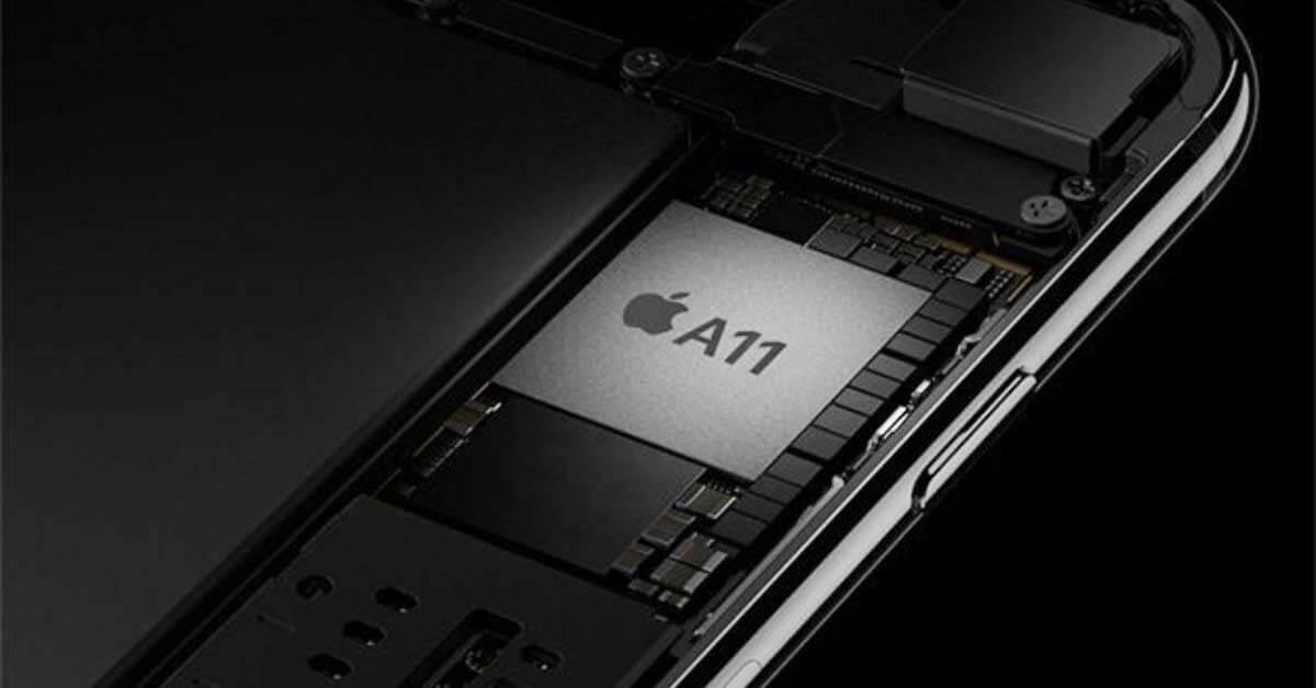 iPhone X, eerste iPhone met 6-core processor