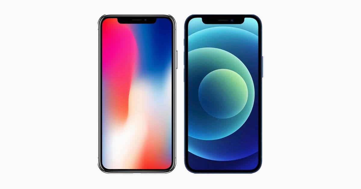 iPhone X vs iPhone 12, wat is het verschil?