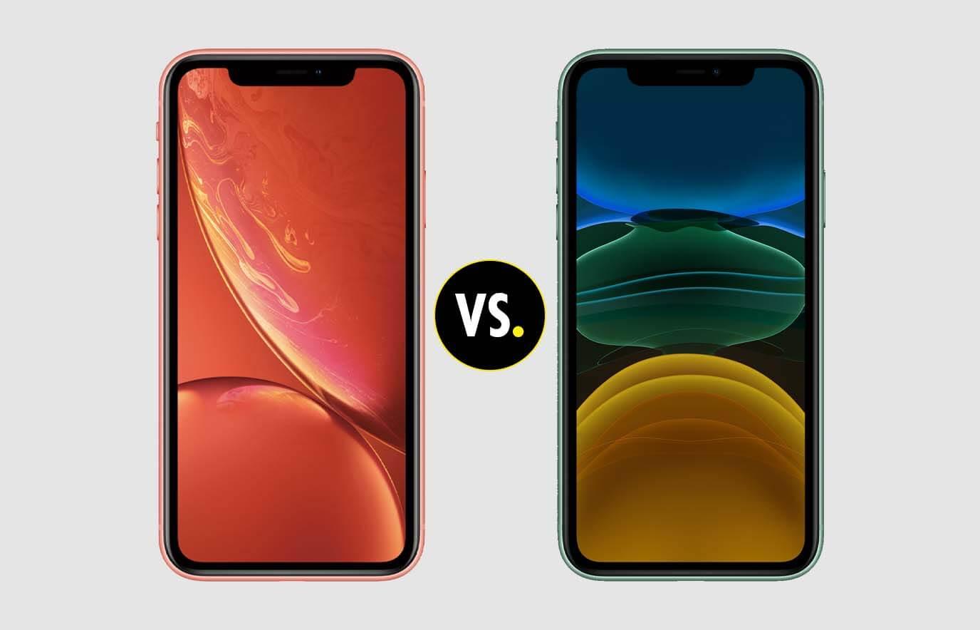 Verschil iPhone XR vs iPhone 11