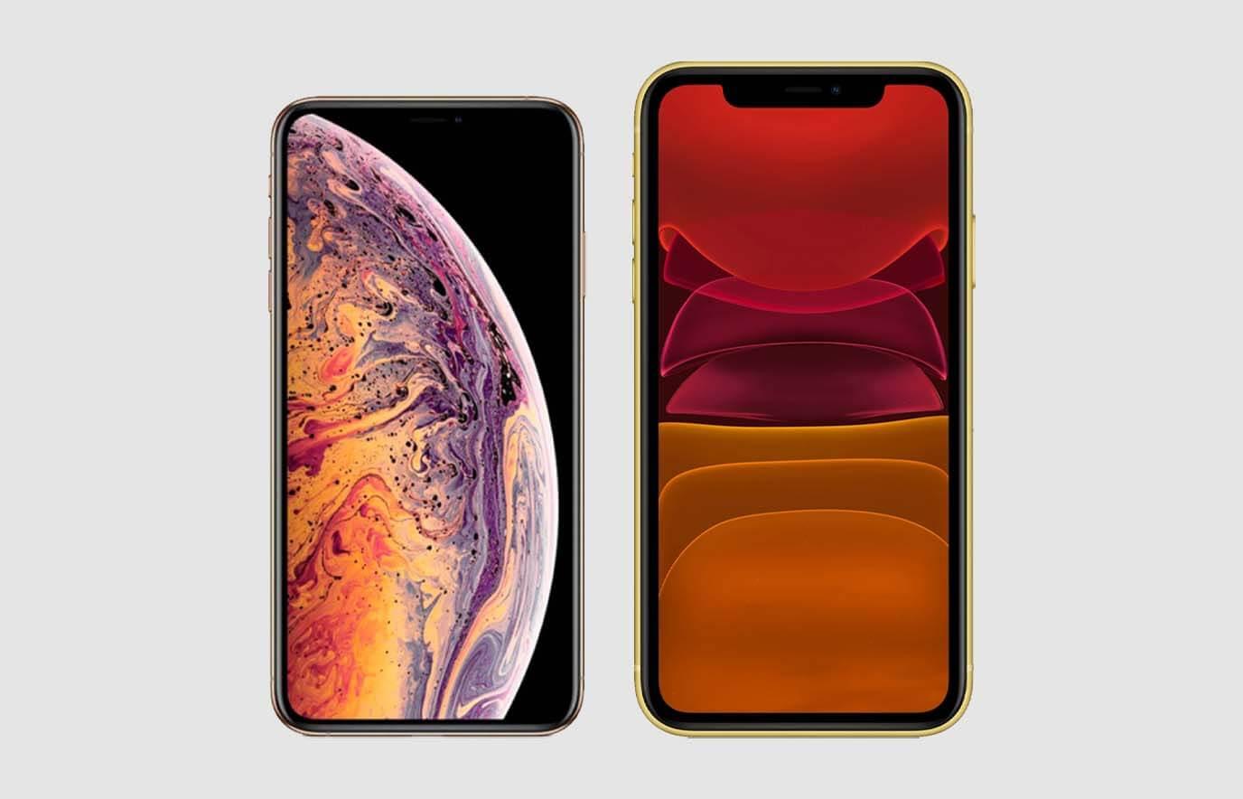 iPhone XS vs iPhone 11