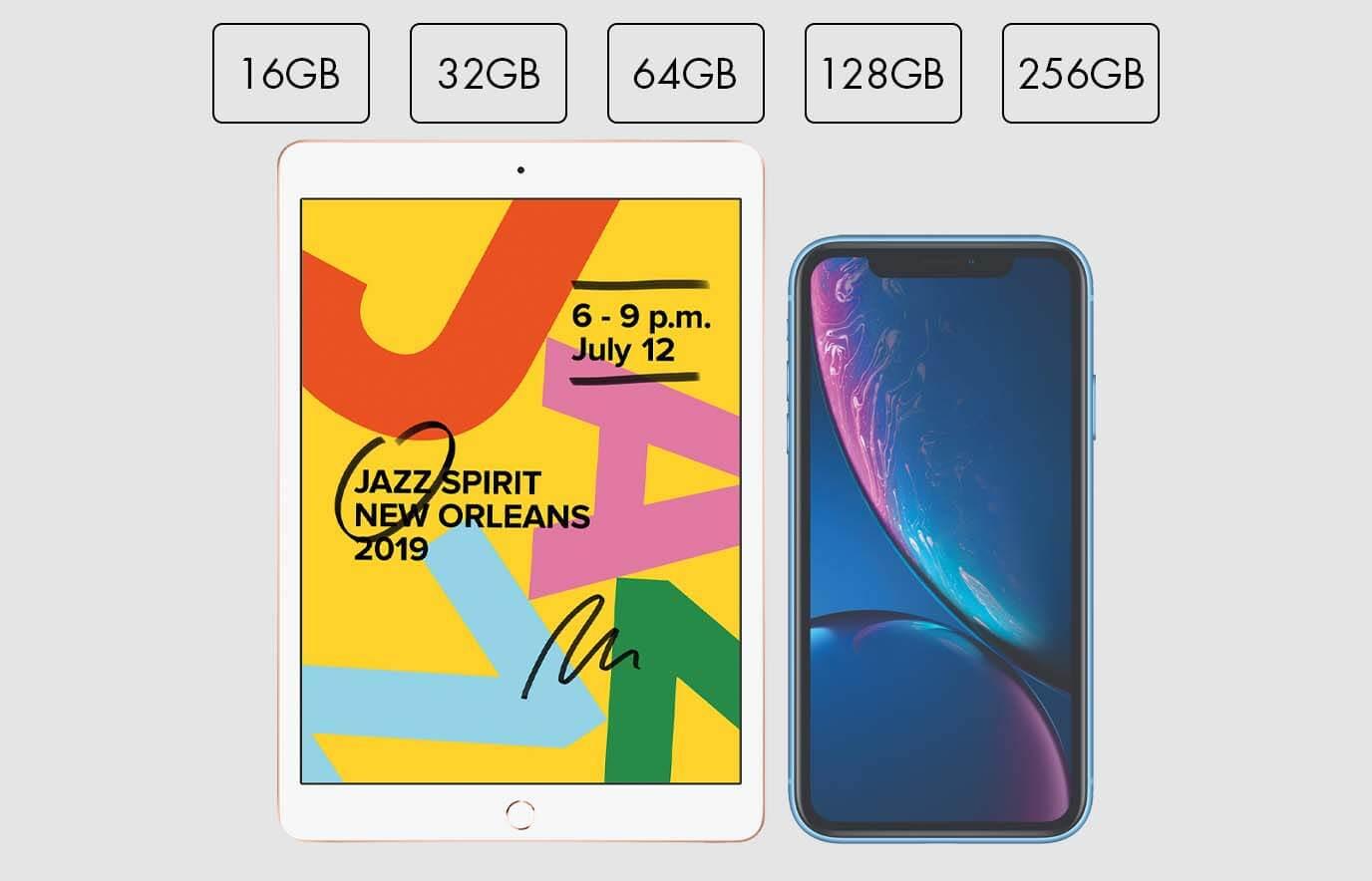 Hoeveel iPhone of iPad opslagcapaciteit heb ik nodig?