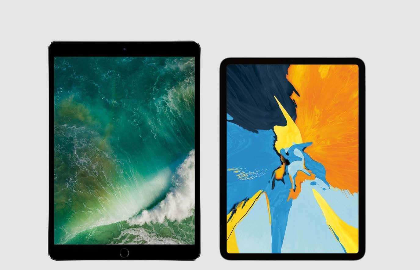 Vergelijking iPad Pro 2017 en iPad Pro 2018