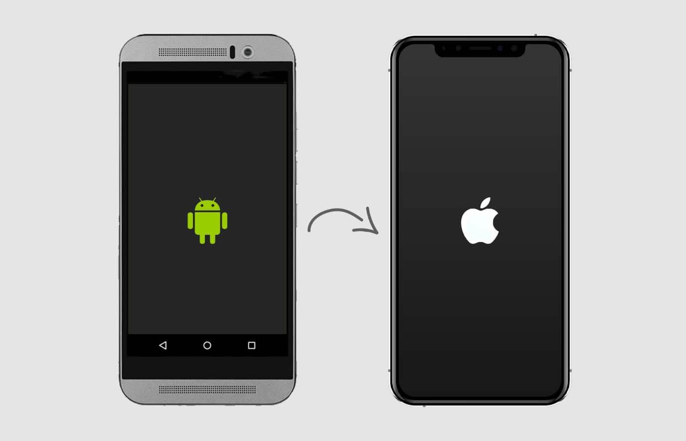 Overstappen van Android naar iOS met de 'Stap over op iOS' app