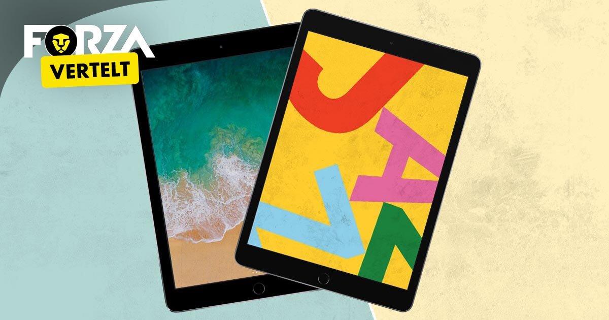 Verschil iPad 2018 en 2019