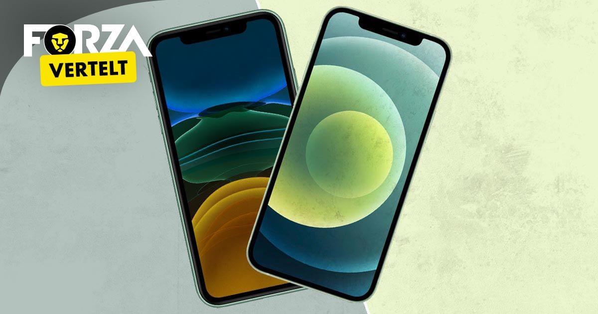 Verschil iPhone 11 en 12