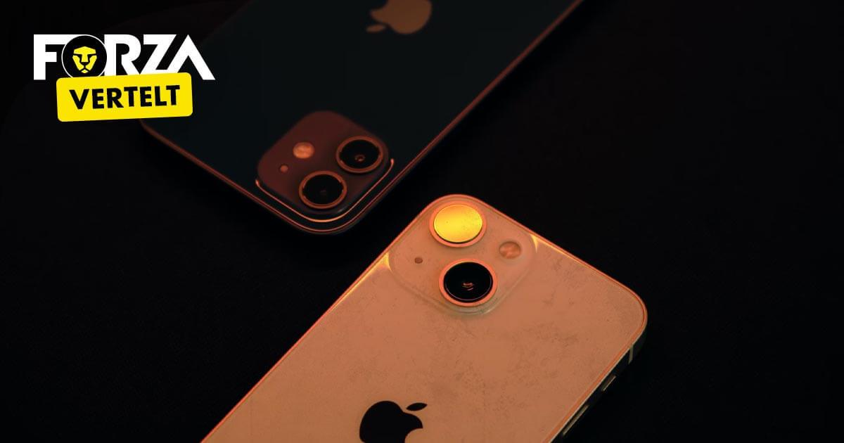 Verschil iPhone 12 en 13