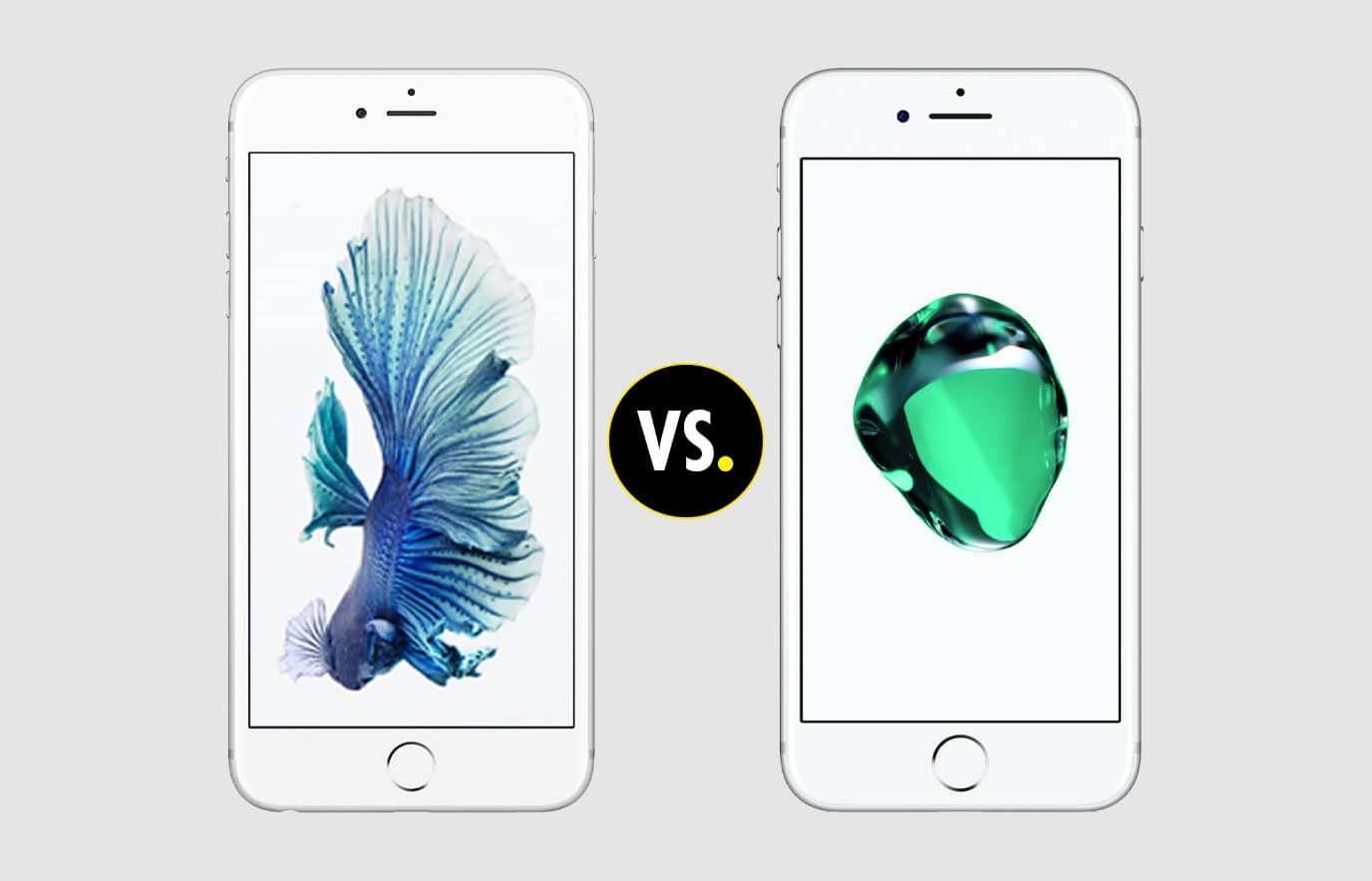 De iPhone 6S Plus en de iPhone 7 Plus: wat zijn de verschillen?