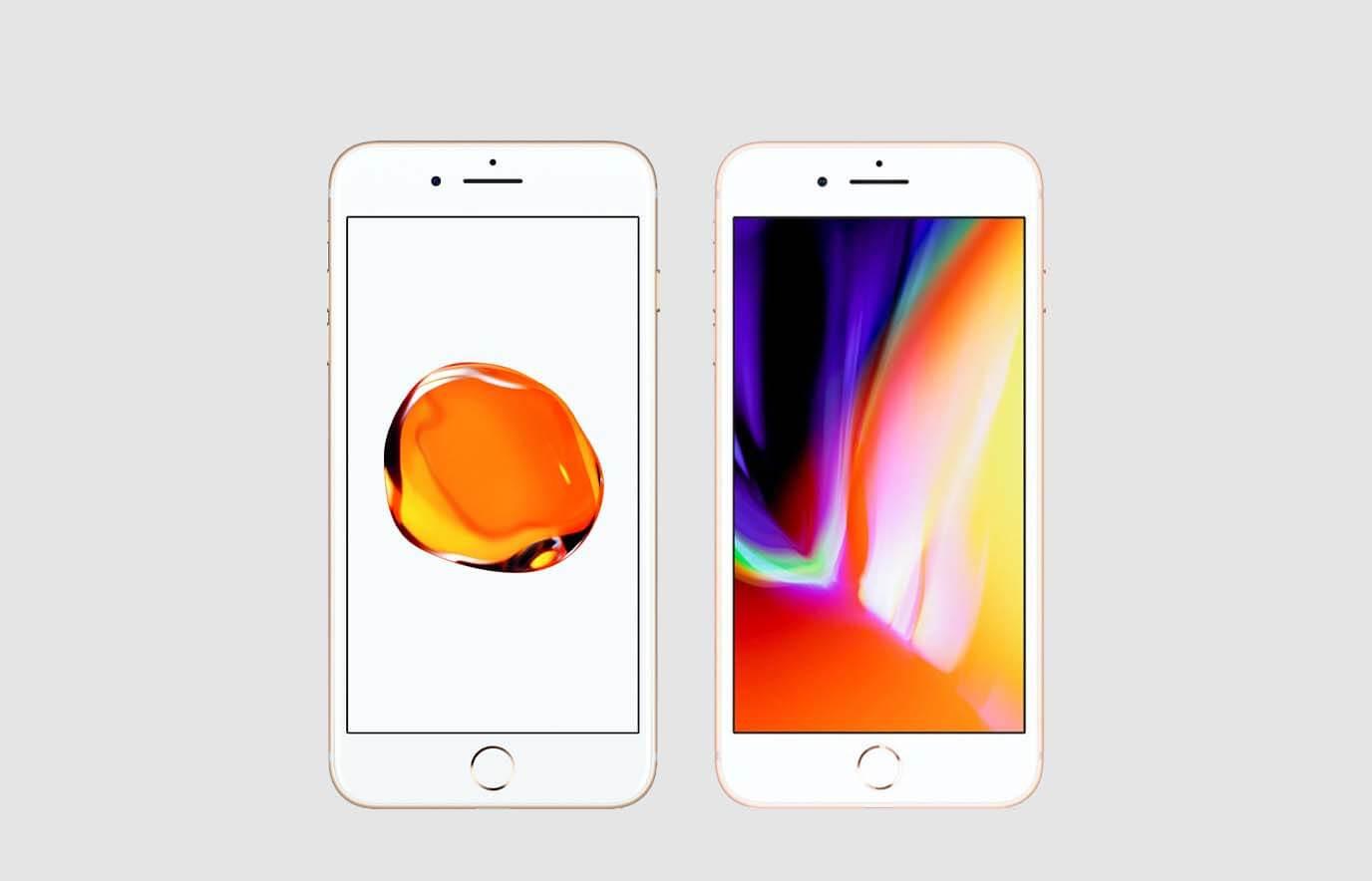 Wat is het verschil tussen de iPhone 7 en de iPhone 8?