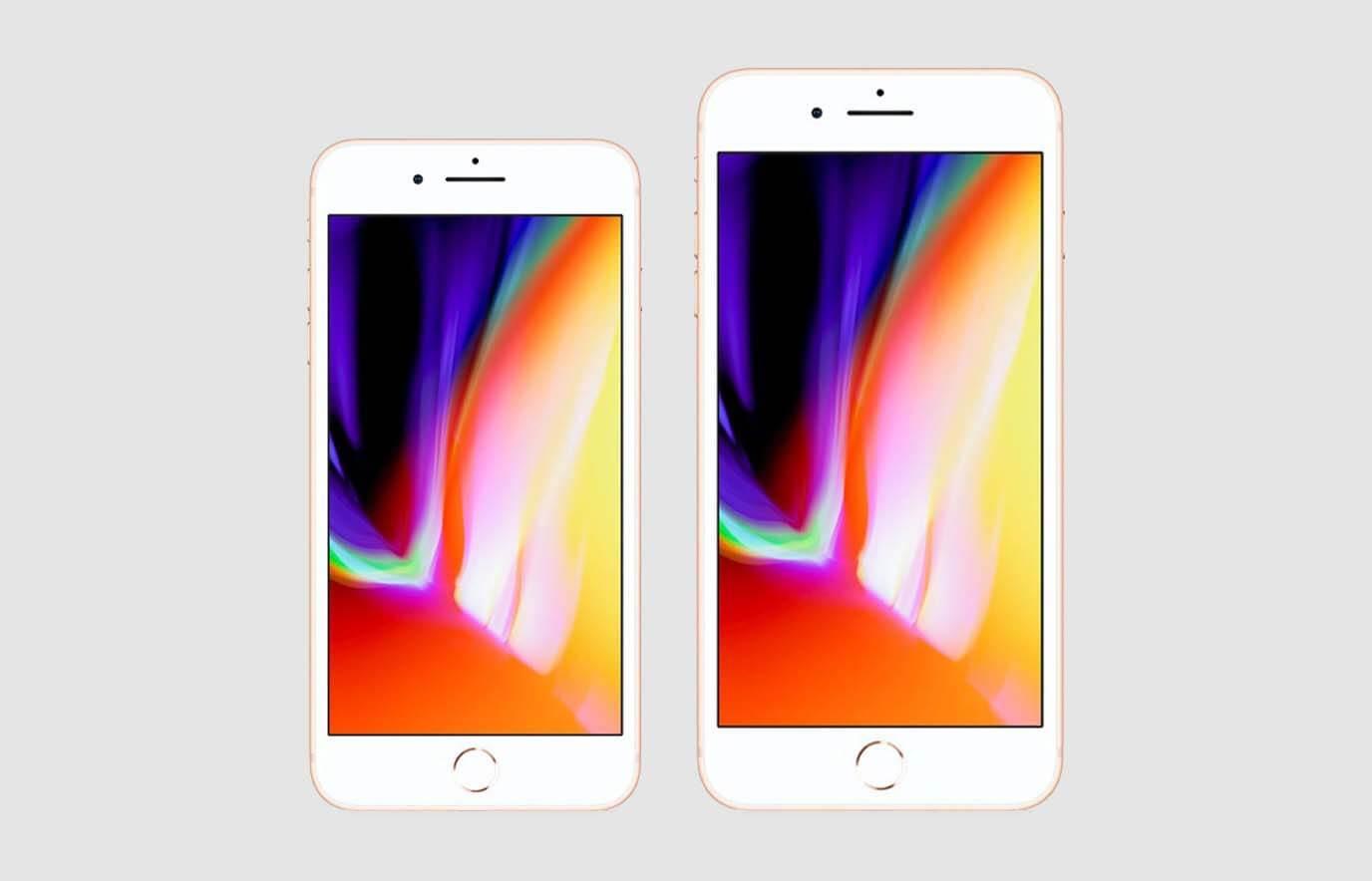 Verschil iPhone 8 en 8 Plus