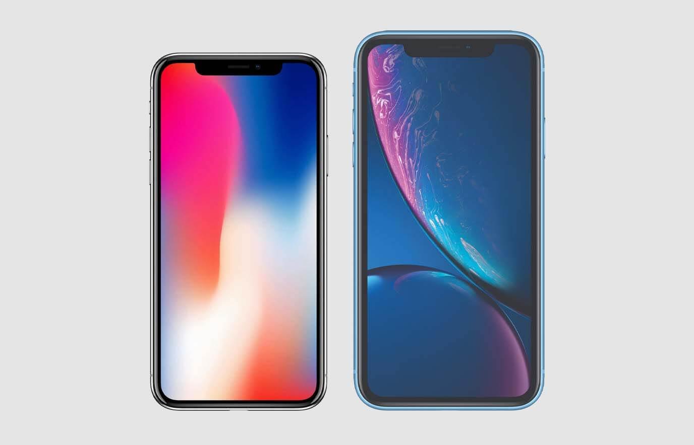 Verschil iPhone X en iPhone XR