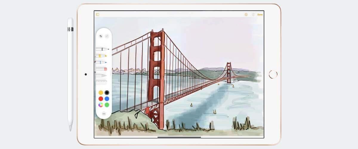 Tekenen en schetsen met Apple Pencil