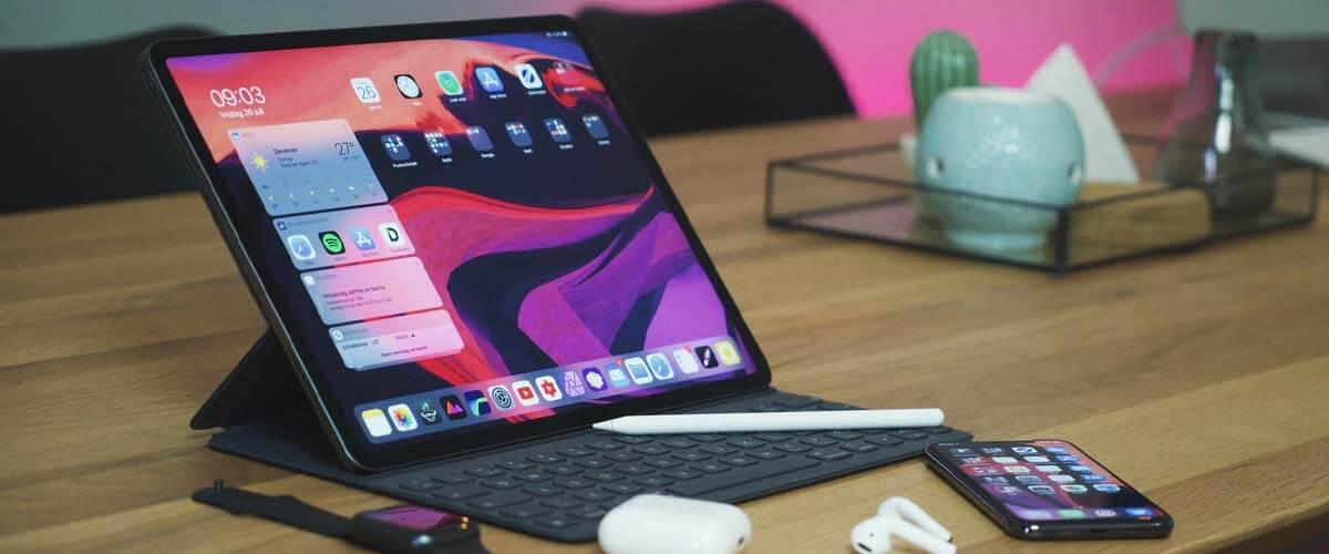 iPad 2019 met Smart Connector