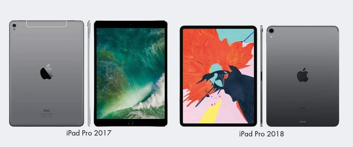 iPad Pro 2017 en iPad Pro 2018